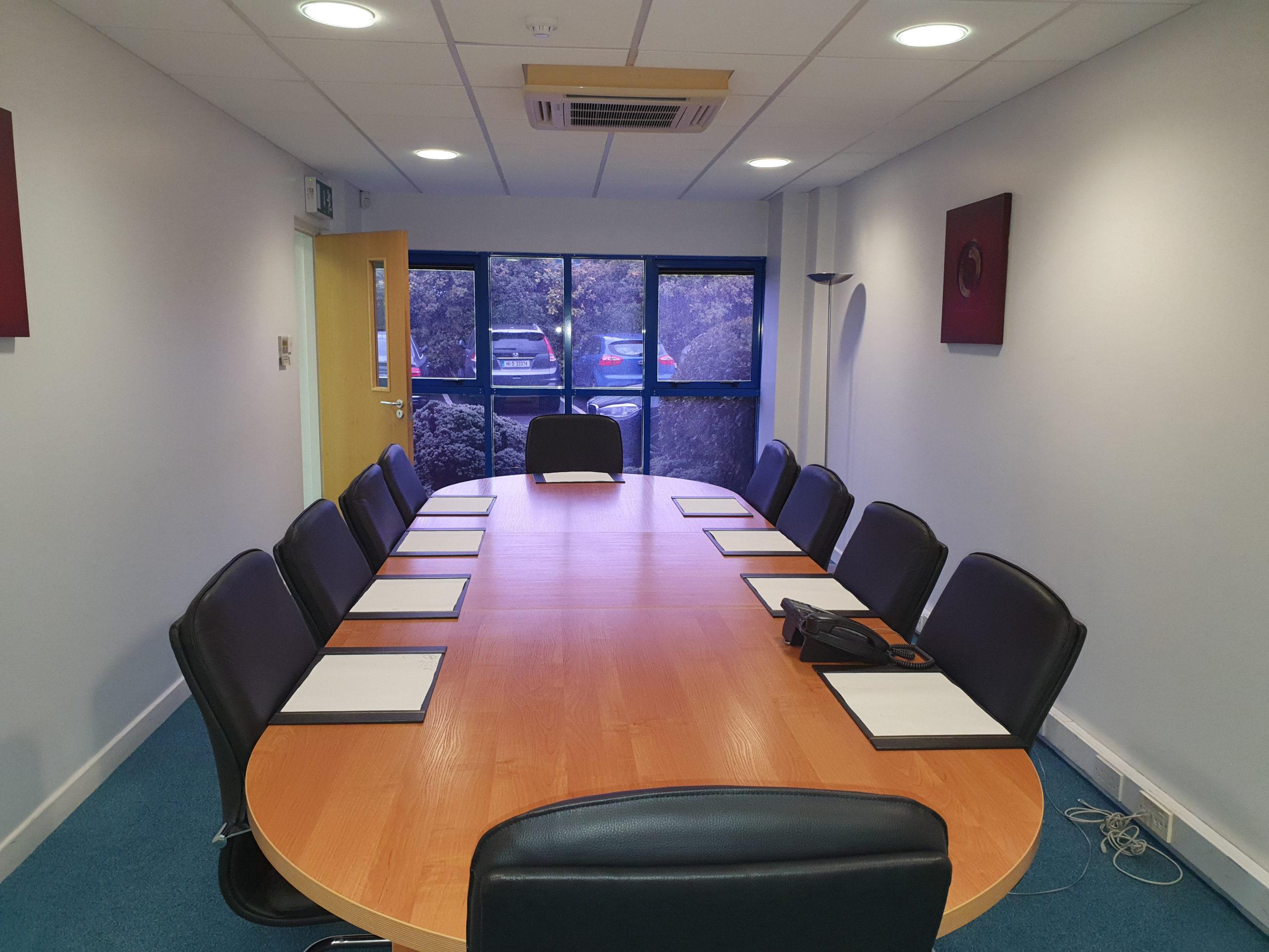 McFeely and McKiernan Accountants Dublin Boardroom